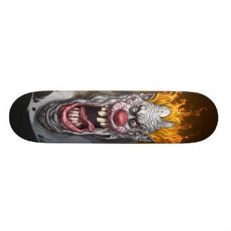 非常に熱いピエロ 19.7CM スケートボードデッキ