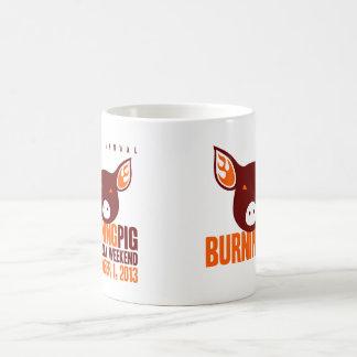 非常に熱いブタのマグ コーヒーマグカップ