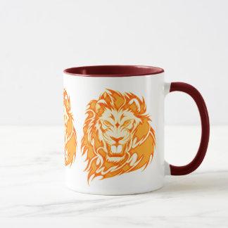 非常に熱いライオン マグカップ