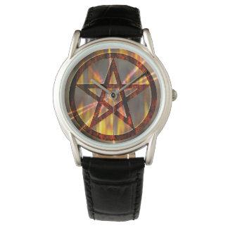 非常に熱い五芒星 腕時計