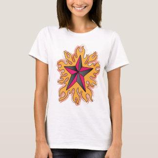 非常に熱い星のティー Tシャツ