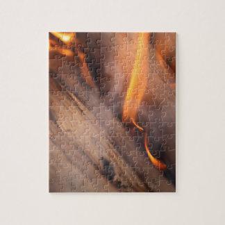 非常に熱い木製の枝 ジグソーパズル