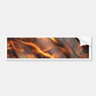 非常に熱い木製の枝 バンパーステッカー