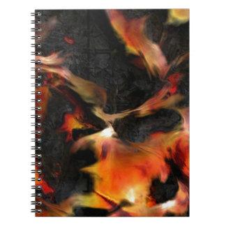 非常に熱い炎 ノートブック