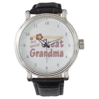 非常に特別な曾祖母のピンク 腕時計