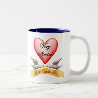 非常に特別な曾祖母の母の日のギフト ツートーンマグカップ