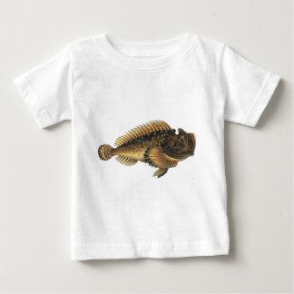 非常に醜い魚 ベビーTシャツ