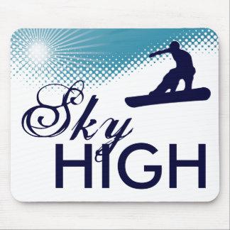 非常に高いスノーボード マウスパッド
