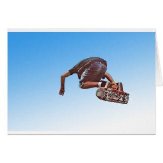 非常に高い グリーティングカード