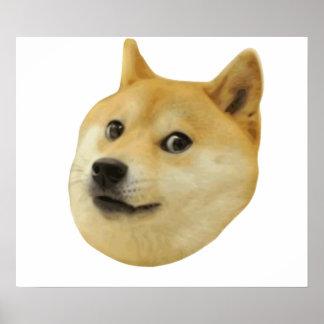非常の総督のワウ多くの犬そのようなShiba Shibe Inu ポスター