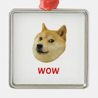 非常の総督のワウ多くの犬そのようなShiba Shibe Inu メタルオーナメント