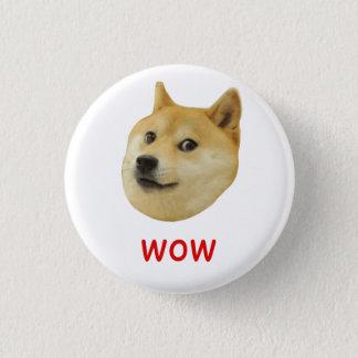 非常の総督のワウ多くの犬そのようなShiba Shibe Inu 3.2cm 丸型バッジ
