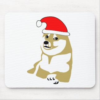 非常の総督のwowミームのクリスマス多くのそのような帽子サンタ マウスパッド