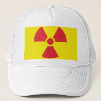 非常警報の放射の警告! キャップ