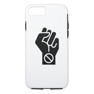 非暴力的な抗議のピクトグラムのiPhone 7の場合 iPhone 8/7ケース