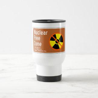 非核地帯、印、カリフォルニア、米国 トラベルマグ