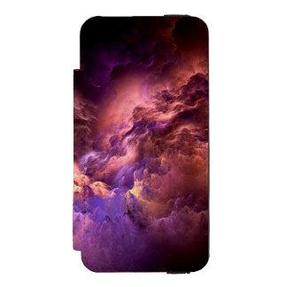 非現実的な紫色の雲 INCIPIO WATSON™ iPhone 5 ウォレット ケース