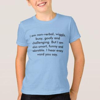 非言語的 Tシャツ