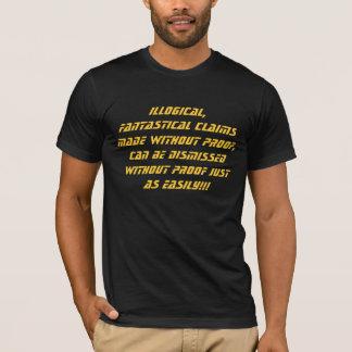 非論理的な要求の服装 Tシャツ