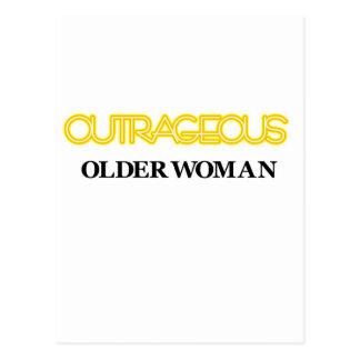 非道な老女 ポストカード