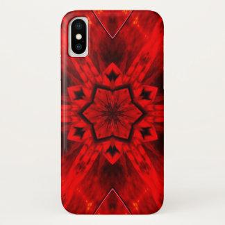 非道の炎の鬼の星の曼荼羅の箱 iPhone X ケース