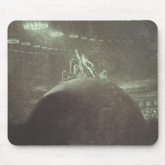 非道議会で司会するSatan 1824年 マウスパッド