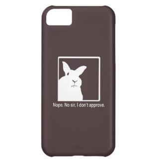 非難のウサギのiPhone 5の場合ブラウン iPhone5Cケース