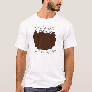 非髭そりの11月の関係者 Tシャツ