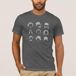 非髭そり11月のティー Tシャツ
