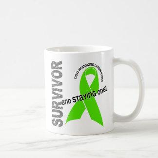 非Hodgkin'sリンパ腫の生存者1 コーヒーマグカップ