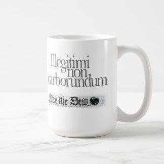 非Illegitimiのカーボランダムのコーヒー・マグ コーヒーマグカップ