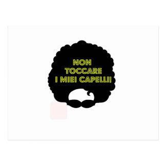 非toccare Iのmieiのcapelli ポストカード