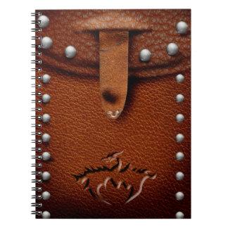 革ドラゴンの袋のノート ノートブック
