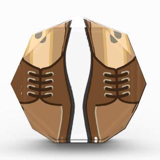 革人の靴 表彰盾
