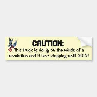 革命の風 バンパーステッカー