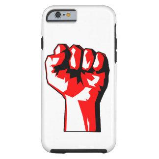 革命家によって上げられる握りこぶしの堅いiPhone6ケース ケース