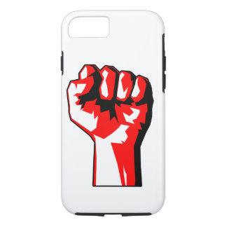 革命家によって上げられる握りこぶしの堅いiPhone 7の場合 iPhone 8/7ケース