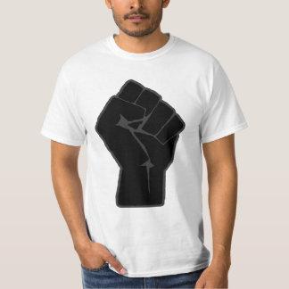 革命家によって上げられる握りこぶしのTシャツ Tシャツ
