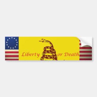 革命戦争旗、革命戦争旗、… バンパーステッカー