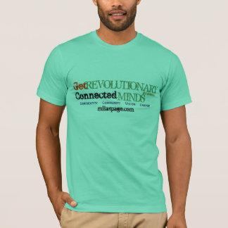 革命的、インスパイアなって下さい(すべてミント) Tシャツ