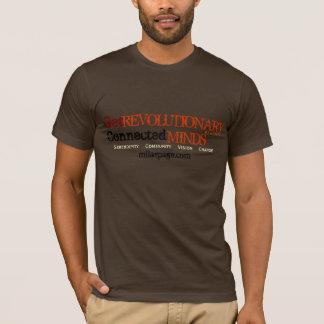 革命的、インスパイアなって下さい(ブラウン) Tシャツ