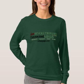 革命的、インスパイアなって下さい(軍隊の調子の選択) Tシャツ