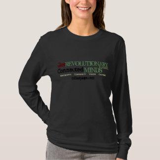 革命的、インスパイアなって下さい(黒) Tシャツ
