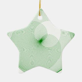 革新的なデザイン 陶器製星型オーナメント