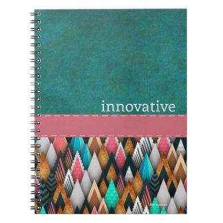 革新的-螺線形 ノートブック