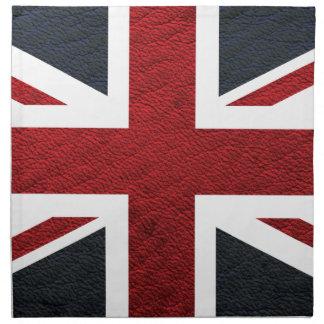革質パターン英国国旗イギリス(イギリス) Fla ナプキンクロス