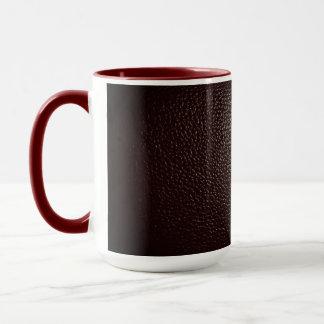 革赤いマグ マグカップ