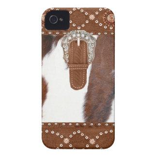 革靴および革西部のIphone 4ケース Case-Mate iPhone 4 ケース