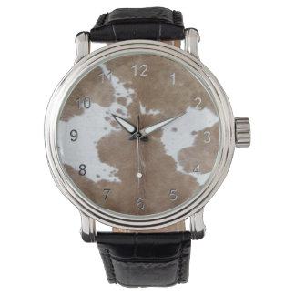 革靴 腕時計