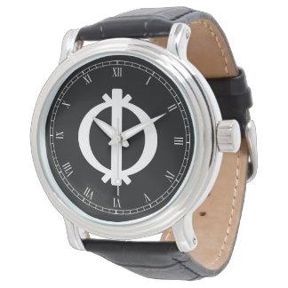 靭性のWawa Aba   Adinkraの記号 腕時計
